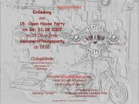 Highlight for Album: 15. Open House Party / Saisoneröffnungsparty am 21.04.2007